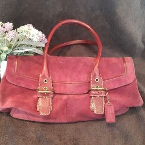 Fuschia Coach bag